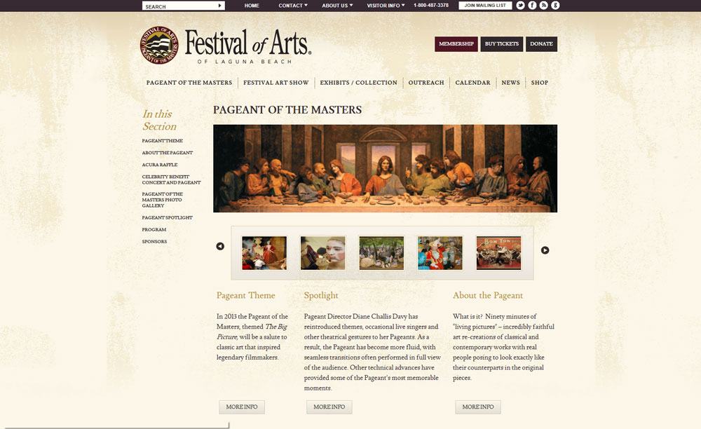 Festival of Arts Pageant of the Masters