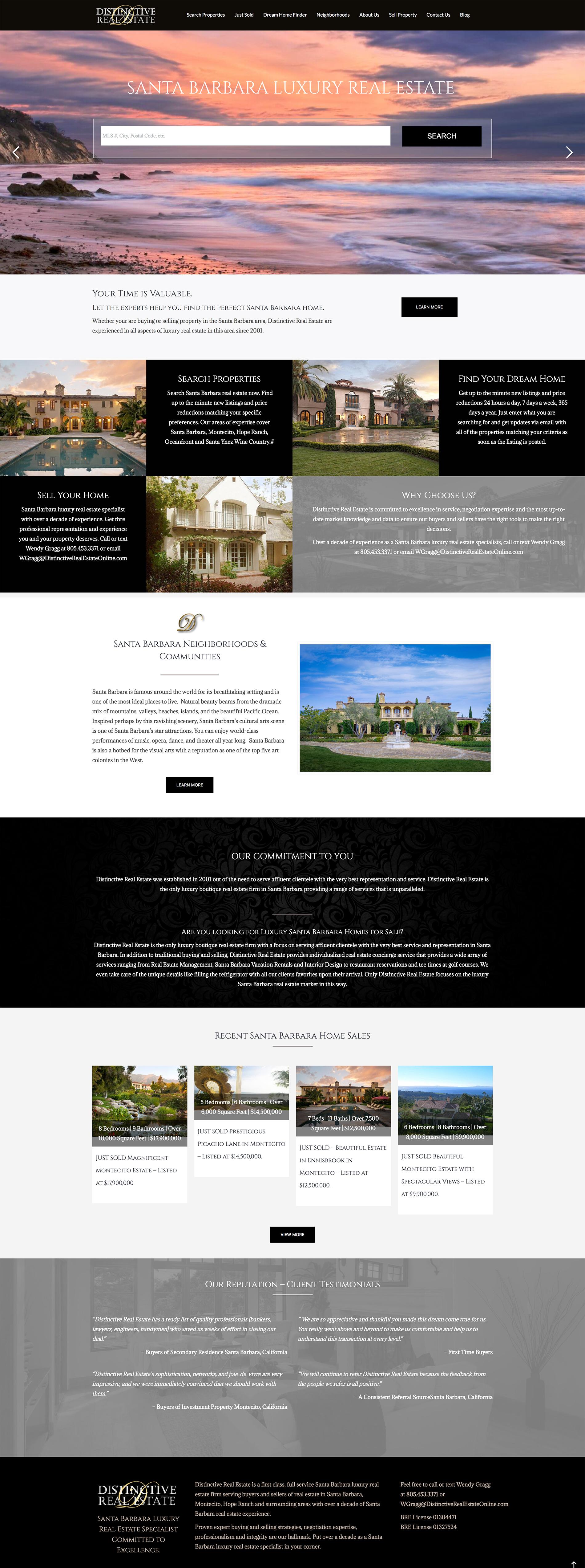 Distinctive Real Estate