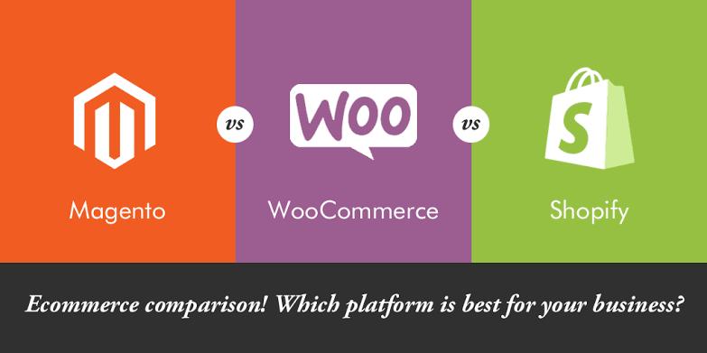 Magento vs. WooCommerce vs. Shopify